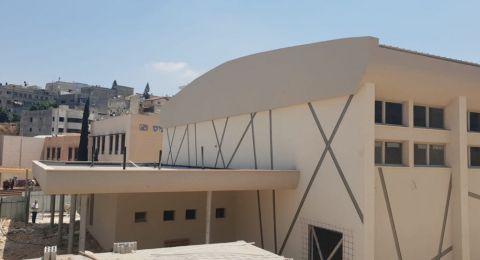 الناصرة: انهاء العمل في المركز الجماهيري بجانب مدرسة القسطل