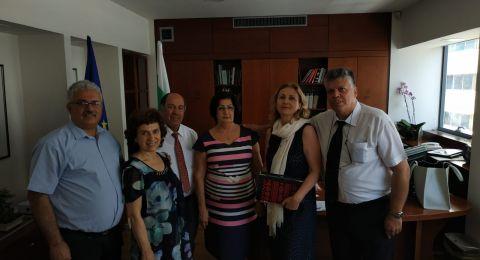 رابطة خريجي بلغاريا تلتقي السفيرة الجديدة في تل ابيب