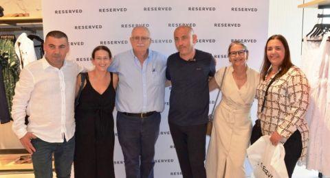 شبكة RESERVEDتوسع انتشارها وتفتتح لأول مرة فرعاً لها في المجتمع العربي مخصص لأزياء النساء وأزياء الأولاد