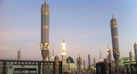مشروع تظليل ساحات المسجد النبوي الشريف في المدينة المنورة يفتخر به