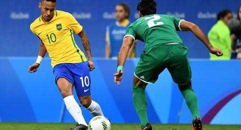 ريو 2016: العراق يجبر البرازيل على التعادل السلبي