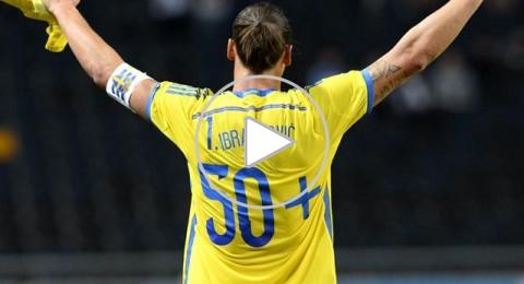 استمتعوا بمشاهدة جميع أهداف ابراهيموفيتش التي سجلها في الدقائق الـ90