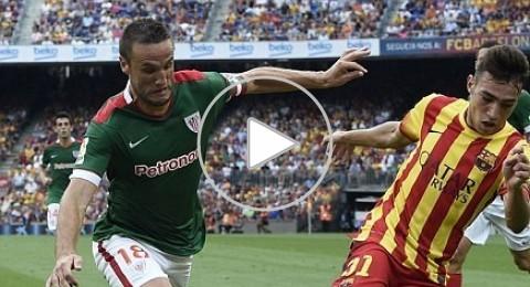 ثنائية نيمار تقود برشلونة للتغلب على اتلتيك بلباو