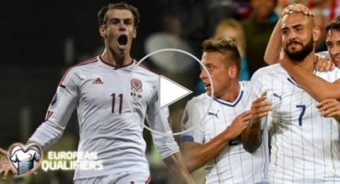 إيطاليا تفوز على النرويج باقتدار وهولندا تخسر أمام التشيك وتألق لبيل مع ويلز