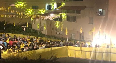 الناصرة: بأجواء بهيجة، انطلاق المهرجان الانتخابي الأول للمرشح وليد عفيفي