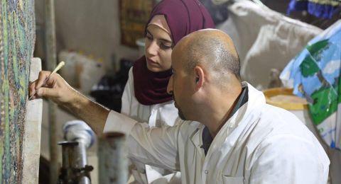 انتهاء مشروع ترميم الفسيفساء داخل المسجد الاقصى