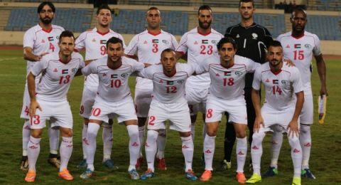 منتخب فلسطين يُتوج بلقب بطولة الكأس الذهبية بفوزه في النهائي على طاجكستان