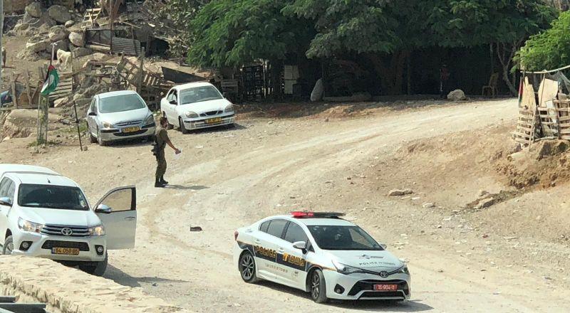 إخطار جديد من سلطات الاحتلال لأهالي الخان الأحمر