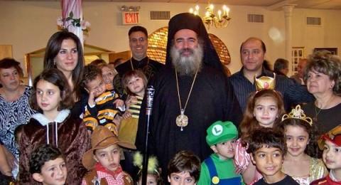 المطران عطاالله حنا يعود الى القدس  بعد زيارة ناجحة للولايات المتحدة الأمريكية