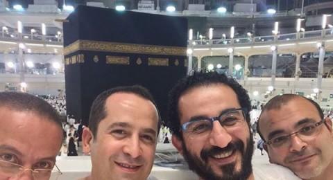 سيلفي لـِ أحمد حلمي في العمرة
