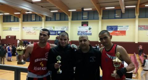 منتخب الكفوف الذهبية يحصد المركز الاول في بطولة الملاكمة بالمانيا
