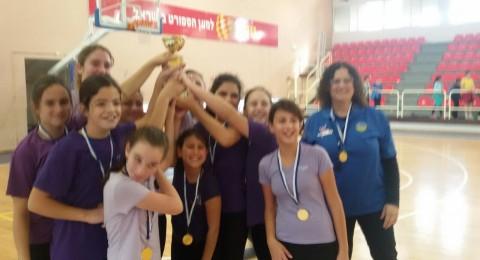 بطولة كرة الشبكة للبنات في الجلبوع ومركز متقدم لفريق المقيبلة