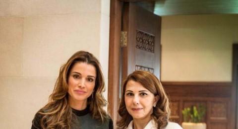 ماجدة الرومي في ضيافة الملكة رانيا