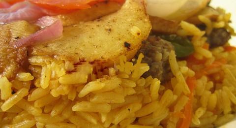 مقلوبة الكفتة والأرز من مطبخ