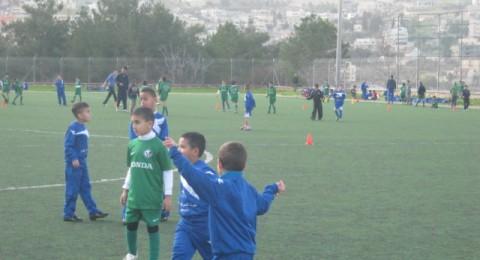 مدرسة كرة القدم مكابي حيفا - كفرمندا تحل ضيفاُ على مدرسة كرة القدم مكابي اخاء الناصرة
