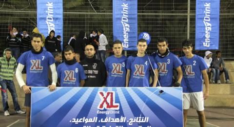 فريق المكر يفوز بالمرتبة الثانية بدوري XL للمدارس