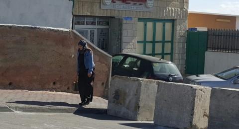 جمعية حقوق المواطن تطالب بإزالة الحاجز من مدخل جبل المكبر في القدس الشرقية