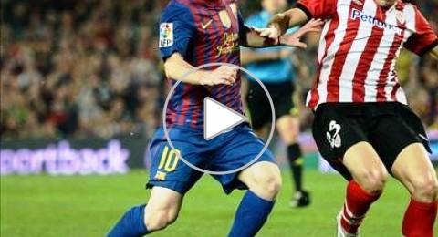 ميسي يقود برشلونة لكسر عقدة بلباو ومطاردة الريال