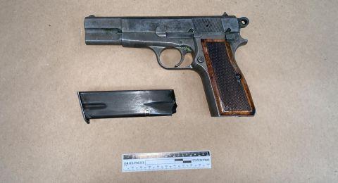الشرطة تلقي  القبض على احد سكان باقة الغربية بشبهة حيازة سلاح غير قانوني