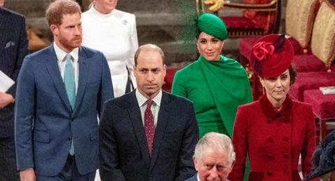 الأمير هاري وميغان بيوم الكومنولث بآخر مهمة رسمية لهما في بريطانيا