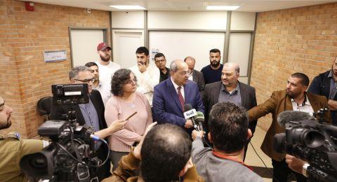 لقاء المشتركة- كاحول لافان:اتخاذ قرار على عقد جلسة أخرى بين الطرفين