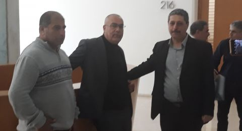 جعفر فرح ،مدير مركز مساواة، يدلي بشهادته امام محكمة الصلح