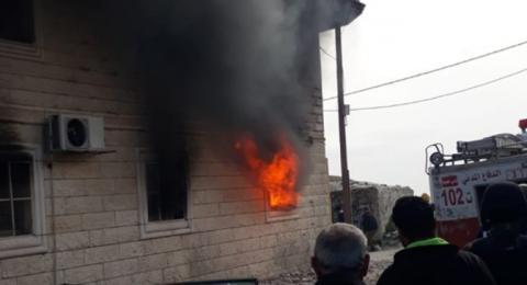 بعد مصرع مسن - إحراق عدة منازل في بني نعيم