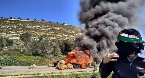 استشهاد شاب وعدد من الاصابات جراء اقتحام الاحتلال جبل العرمة جنوب نابلس