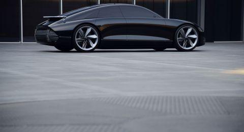 هيونداي موتور تكشف عن تصميمها الجديد للسيارات الكهربائية المستقبلية