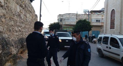 الشرطة الفلسطينية : تقبض على شخص نشر أخبار كاذبة عن إصابات بفيروس كورونا في نابلس