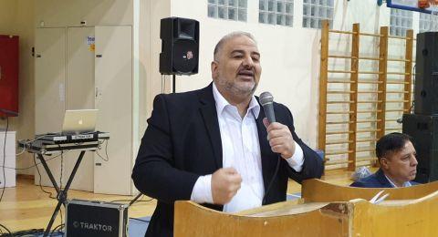 النائب منصور عباس لوزير الصحة: إهمال واضح للمجتمع العربي بكل ما يتعلق بالتوعية من خطر فيروس الكورونا