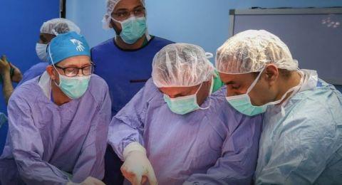 وفود طبية أجنبية وصلت مشافي غزة للمساعدة في علاج الجرحى