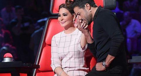 إليسا تبارك زفاف شيرين عبد الوهاب ولم تتلق دعوة منها ومحمد حماقي حزين!