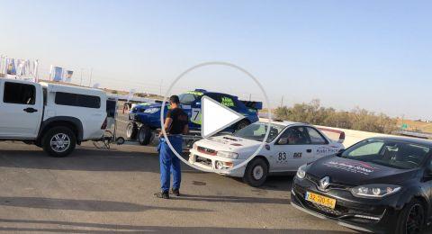 رامي غدير يحصد المرتبة الاولى بسباق السّيّارات في عراد