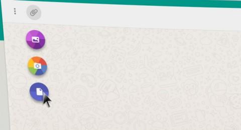 تطبيق واتس اب على الويب يدعم مشاركة المستندات