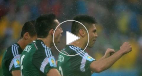 المكسيك تقهر ظلم التحكيم و تفوز على الكاميرون