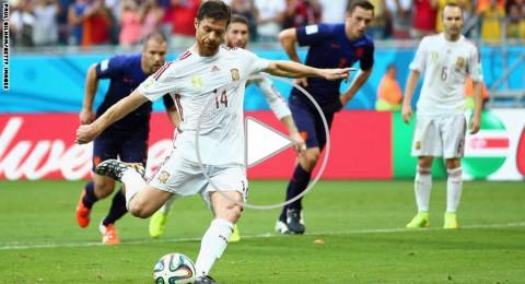 مونديال 2014.. هولندا تتغلب على اسبانيا بـ 5:1