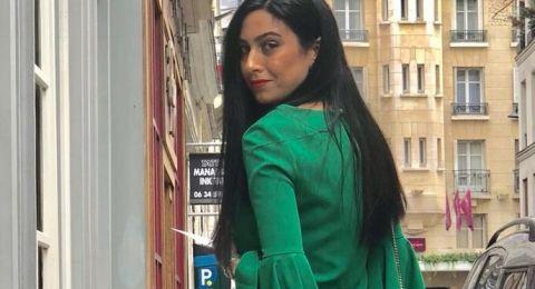 منسقة الازياء النصراوية ليالي حوّا تشارك بأسبوع الموضى في باريس
