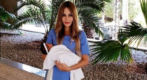 شاهدوا الصورة الأولى لإبنة داليدا ورامي عياش