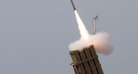 الجيش الإسرائيلي يطلق صاروخ