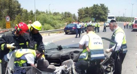 زيادة في عدد القتلى العرب في حوادث الطرق
