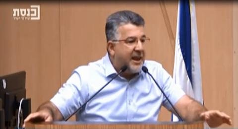 النائب د. يوسف جبارين: الليكود يحرض على قتل العرب