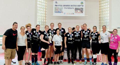 بكثير من الفخر والرياضة النسائية .. انطلاق بطولة كرة الشبكة في الجلبوع على اسم شلومي أيال