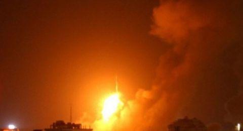 طائرات إسرائيلية تقصف قطاع غزة