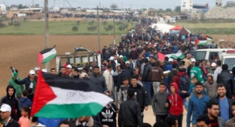 في الجمعة الـ74.. الصحة: إصابة 30 مواطناً برصاص الاحتلال شرقي القطاع