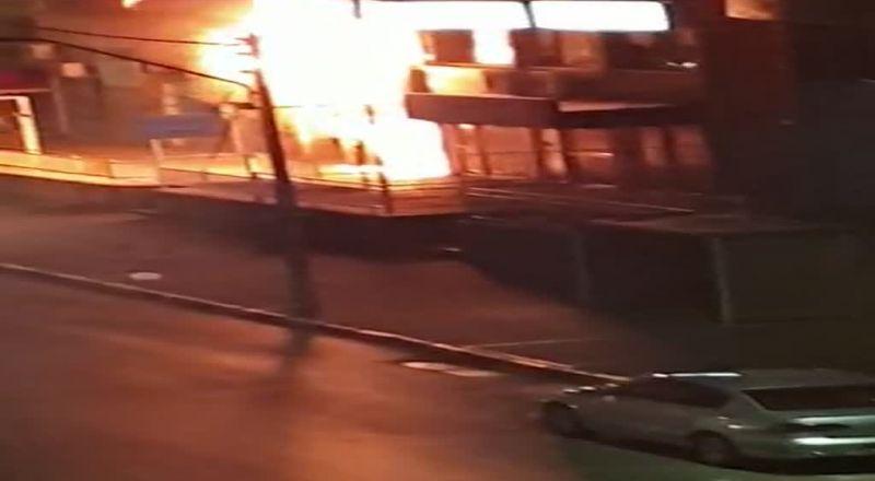 عكا: اندلاع حريق في حانوت لادوات تجميل