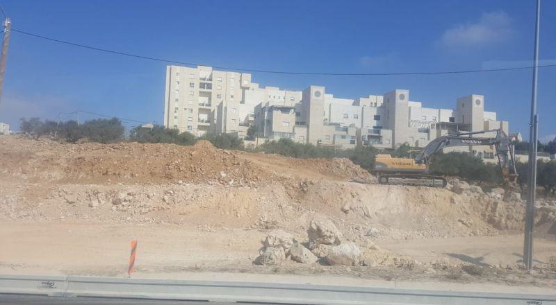 إسرائيل تبدأ بتوسيع شارع الانفاق لربط القدس بمستوطنات غوش عتصيون