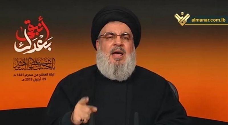 نصرالله يعلق على موقف البحرين من أحداث لبنان الأخيرة