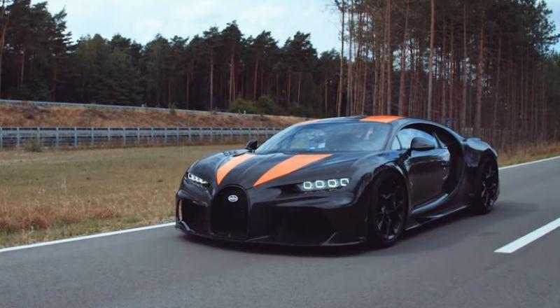 بوغاتي تزيح الستار عن السيارة الأسرع في العالم