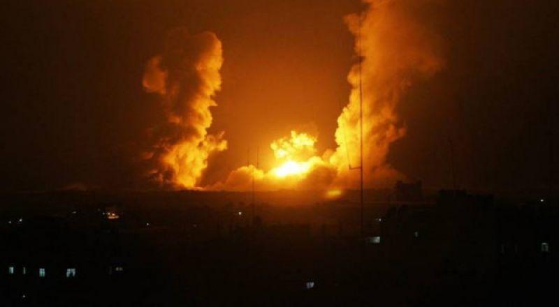 الطيران الإسرائيلي يقصف 15 هدفاً شمال ووسط قطاع غزة